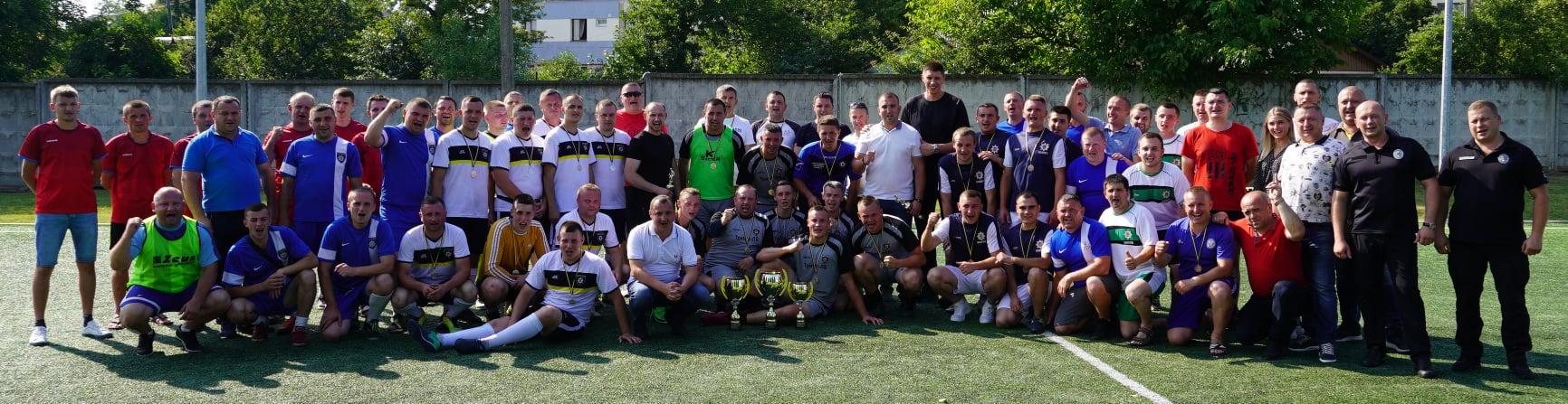 Найкраще в футбол на Львівщині грають золочівські поліцейські