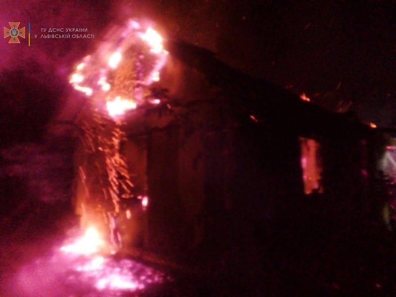 Цієї ночі горів житловий будинок у с. Підгір'я