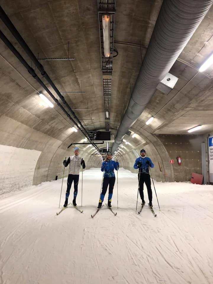 Спортсменка з Підкаменя тренується у Фінляндії